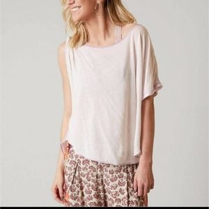 NWT Free People Pluto One-Shoulder Top Size Medium